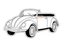 Vieux véhicule Illustration Stock