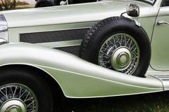 Vieux véhicule allemand image stock