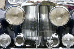 Vieux véhicule anglais Photo stock