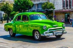 Vieux véhicule cubain Image stock