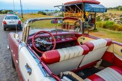 Vieux véhicule cubain Images stock