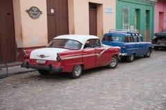 Vieux véhicule cubain Photographie stock