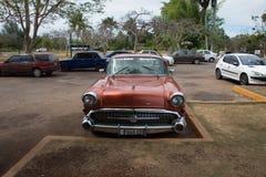 Vieux véhicule cubain Photo stock