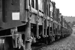 Vieux véhicule de charbon Image stock