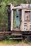 Vieux véhicule de train Images libres de droits