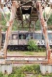 Vieux véhicule de train Images stock