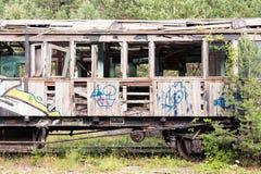 Vieux véhicule de train Photographie stock libre de droits