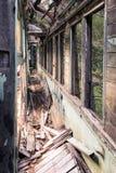 Vieux véhicule de train Image stock