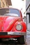 Vieux véhicule rouge Image libre de droits