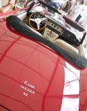 Vieux véhicule rouge Photos libres de droits