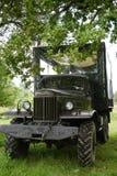 Vieux véhicule tout-terrain militaire des temps de l'URSS Transport pour le safari tous terrains Véhicule Photographie stock libre de droits