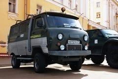 Vieux véhicule UAZ photographie stock
