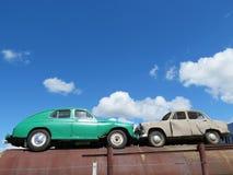 Vieux véhicules Photos stock