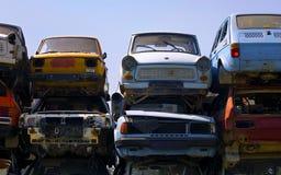 Vieux véhicules Photographie stock