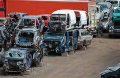 Vieux véhicules Image libre de droits