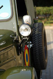 Vieux véhicules, camion d'armée roumain Photographie stock