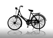 Vieux vélo illustration de vecteur