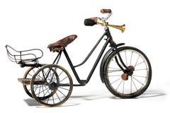 Vieux vélo dans le rétro style Images libres de droits