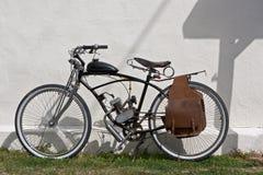 Vieux vélomoteur Photos stock