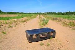 Vieux valise photo libre de droits