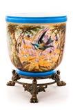 Vieux vase peint Image stock