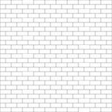 Vieux vecteur gris blanc eps10 de mur de briques Signe de mur en pierre de brique illustration stock