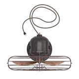 Vieux ventilateur antique Photo libre de droits