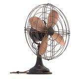Vieux ventilateur antique Images stock