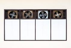Vieux ventilateur d'aérage Photographie stock libre de droits