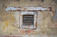 Vieux ventilateur d'extraction Images libres de droits