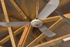 Vieux ventilateur de plafond Photographie stock