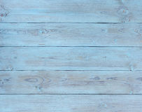Vieux vert de fond, planche en bois bleue Photos stock
