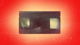 vieux vidéo de cassette Photographie stock libre de droits