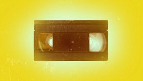 vieux vidéo de cassette Photo libre de droits