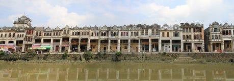 Vieux village à Kaiping images libres de droits