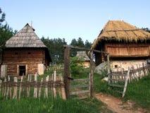 Vieux village Image libre de droits