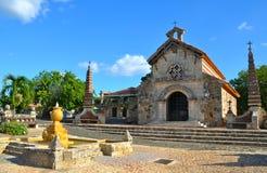 Vieux village Altos de Chavon Image libre de droits