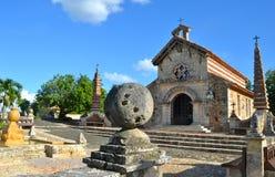 Vieux village Altos de Chavon Images libres de droits