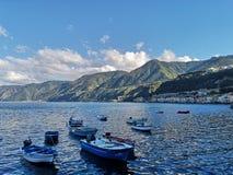Vieux village de pêche de Scilla photographie stock libre de droits
