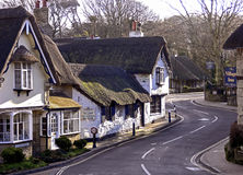 Vieux village de Shanklin en 2005 Images stock