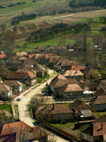 Vieux village en Roumanie Images stock