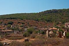 Vieux village grec/turc de Doganbey, Turquie 12 Image stock