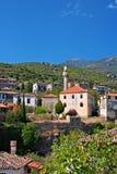 Vieux village grec/turc de Doganbey, Turquie 5 Photos stock
