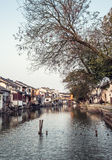 Vieux-ville du tongli, villages antiques à Suzhou Photo libre de droits
