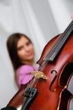 Vieux violon Photos stock