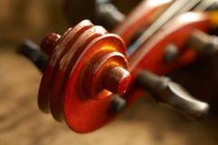 Vieux violon photo stock
