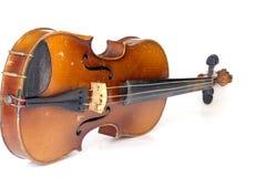 Vieux violon Photographie stock libre de droits