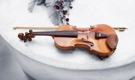 Vieux violon Photo stock