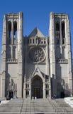 Vieux visage d'église Photos stock