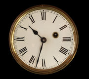 Vieux visage d'horloge Image stock